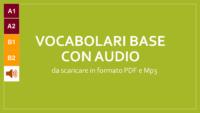 Training vocaboli con tanti file audio