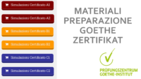 Materiale preparazione al Goethe - Zertifikat