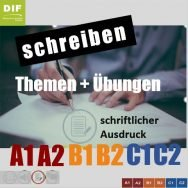 Schreibtraining - scrivere in tedesco