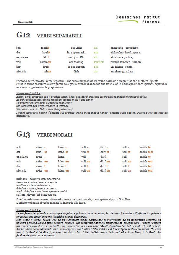 Amato Tutte le regole della grammatica per tutti gli studenti di tedesco NG44
