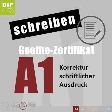 goethe zertifikat a1 deutsches institut