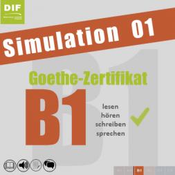 Goethe-Zertifikat B1 - Simulation 01