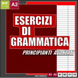esercizi di grammatica A2
