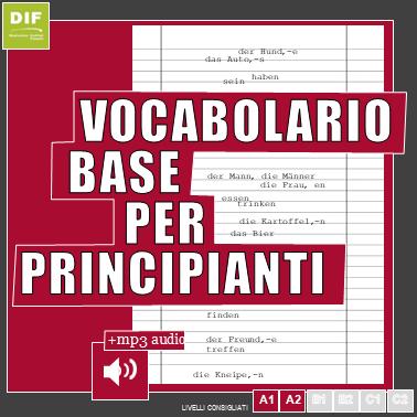 vocabolario principianti deutsches institut