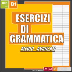esercizi di grammatica tedesca B1