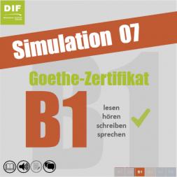 modello delGoethe-Zertifikat B1