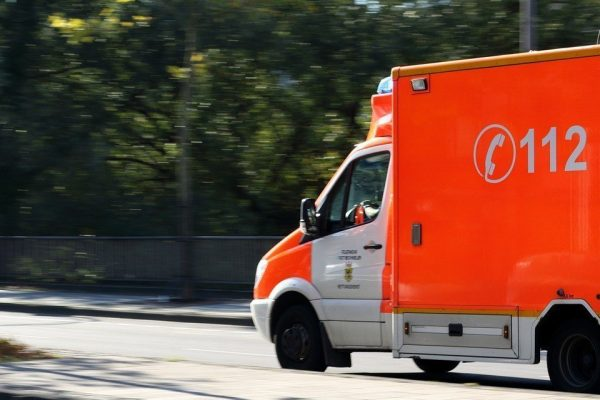 Krankenwagen Notruf