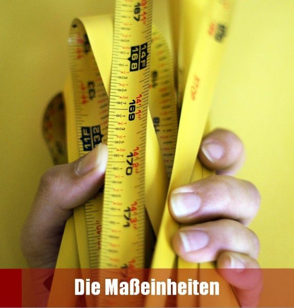 Maße - Unità di misura